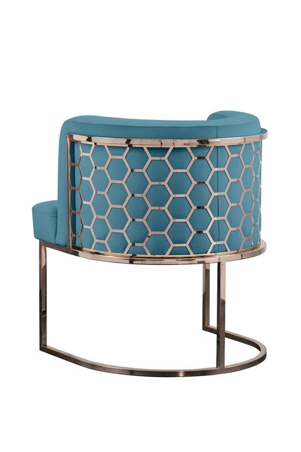 Furniture Alveare Copper Dining Chair