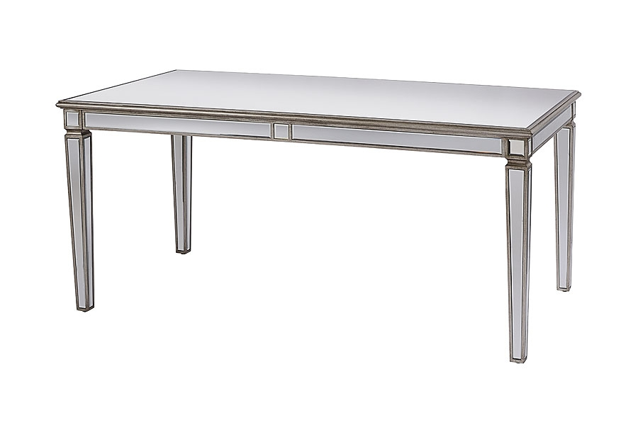 Antoinette Toughened Mirror Dining Table Mirrored Dining Table My Furniture