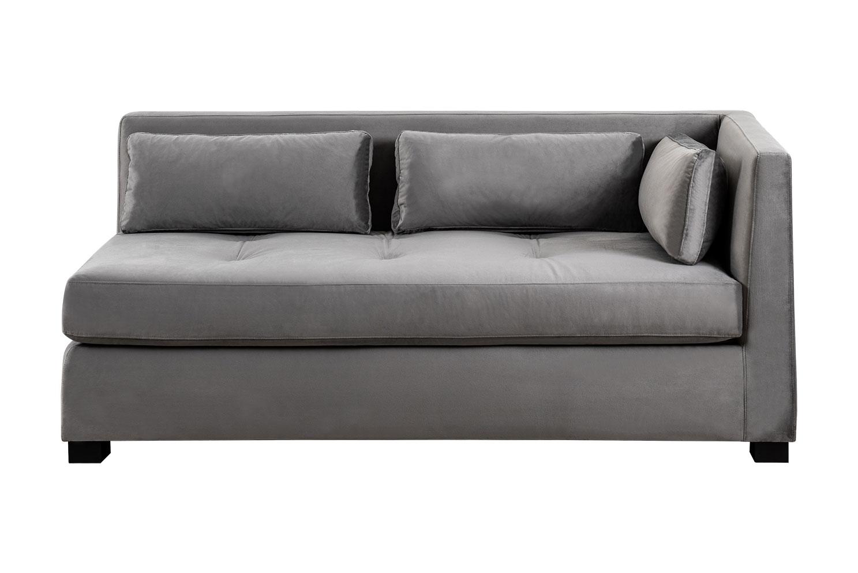 Super Berkley Right Hand Day Bed Dove Grey Dailytribune Chair Design For Home Dailytribuneorg
