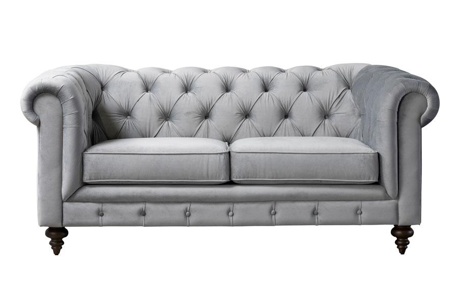 Monty Two Seat Sofa Dove Grey