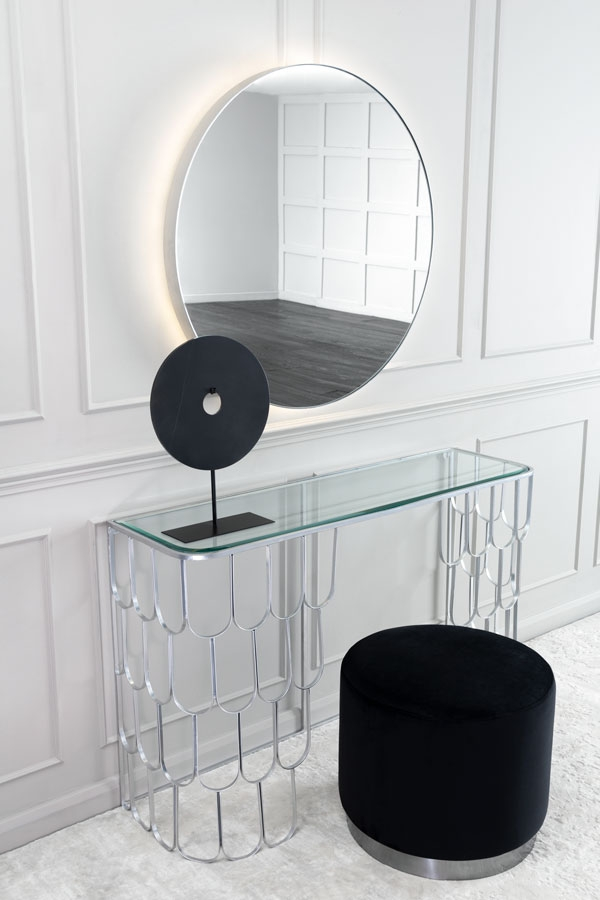 Eclipse Illuminated Mirror Chrome