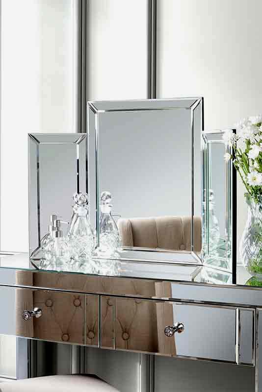 Miroir triptyque pliable COLLETA